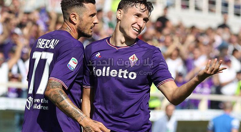 بخمس اهداف نادي كالياري يحقق الفوز على فريق فيورنتينا اليوم في الجولة الثانيه عشر من الدوري الايطالي