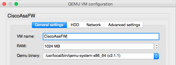 Configuring GNS3 and QEMU on Mac OSX Yosemite  | El rincón de Yishai