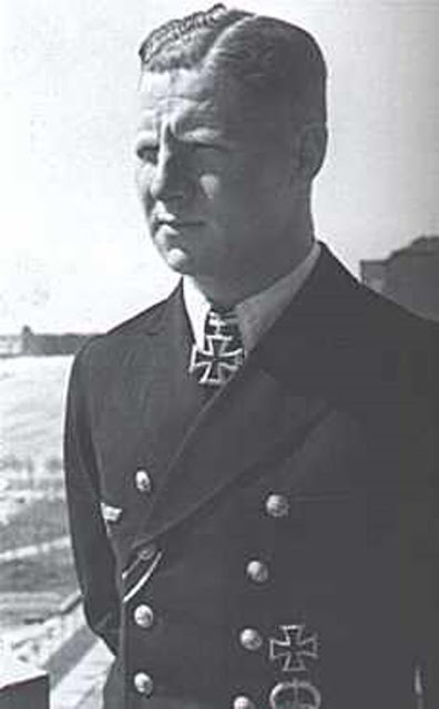 U-boat Captain Heinrich Lehmann-Willenbrock of U-96, who sank a freighter on. 9 March 1942 worldwartwo.filminspector.com