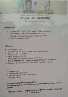 Loker Mercedes-Benz Indonesia