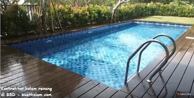 Kontraktor kolam renang di BSD