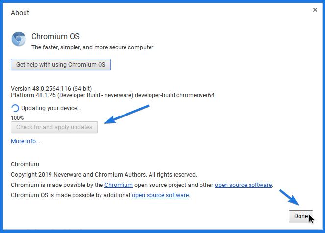Update Chromium OS