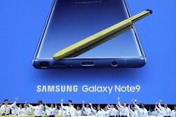 Kuat untuk Gaming, Samsung Resmi Meluncurkan Galaxy Note 9