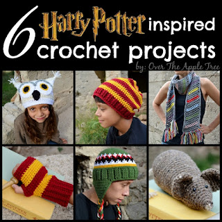 Harry Potter Crochet by Over The Apple Tree