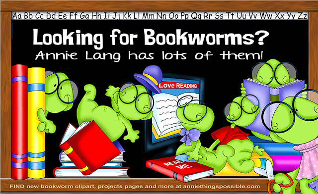 You'll find Annie Lang's Bookworms and more at https://www.anniethingspossible.com/
