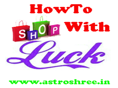 shopping with luck in astrology