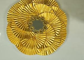 صناعة ديكور جديد مرآة الشمس - DIY SUN GLASS