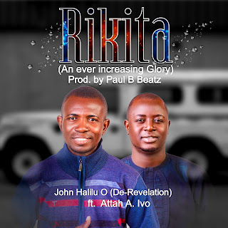 "De-Revelation - Rikita Ft. Attah Mp3 Download   De-Revelation - Rikita Ft. Attah Mp3 Download    De-Revelation - Rikita Ft. Attah Mp3 Download - Nigerian gospel minister, John Halilo O popularly known as  De-Revelation who dropped his second gospel album  last September, is set to start up this year with a a new song ""Rikita"".    When genuine praise from the heart goes up, divinity will meet up with humanity, you confused the devil (Rikita)    When you Genuinely seek God's kingdom and his righteousness then every other things that people are dying for, will surely locate you and overtake you. ( Increasing Glory). He features gospel minister, Attach Ivoh on a Paul B. Beatz.     Download, Listen & Share"