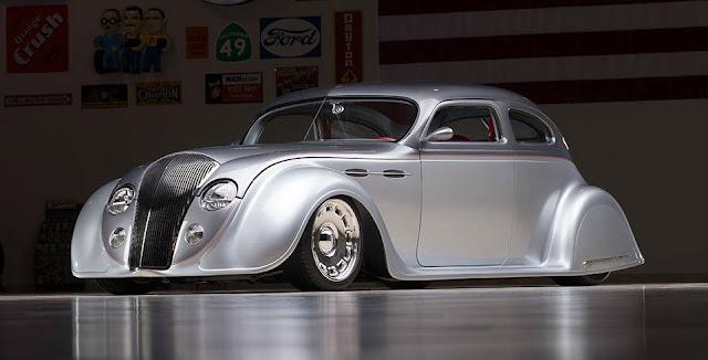 Chrysler Airflow 1930s American classic car