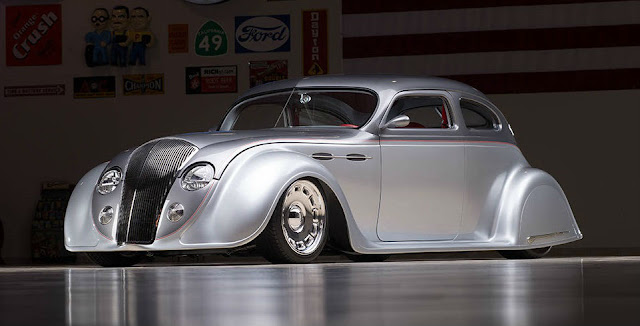 Chrysler Airflow 1930s American classic car