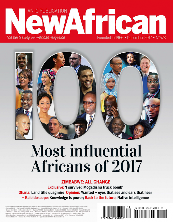 Akufo-Addo, Patrick Awuah, Edward Enninful, Idris Elba, Anthony Joshua & Others On The New African Magazine 100 Most Influential Africans of 2017