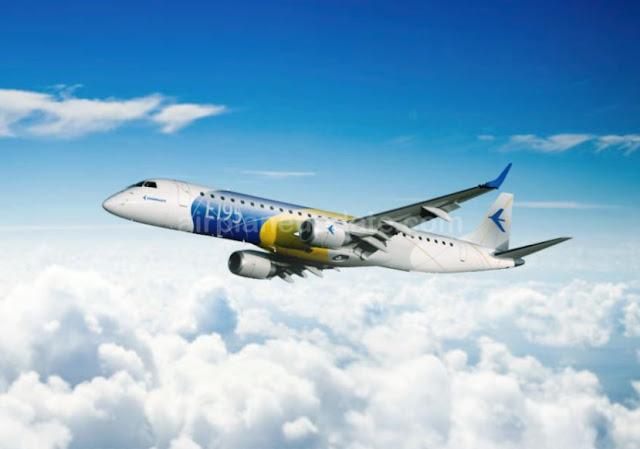 Embraer E195 Jetliner