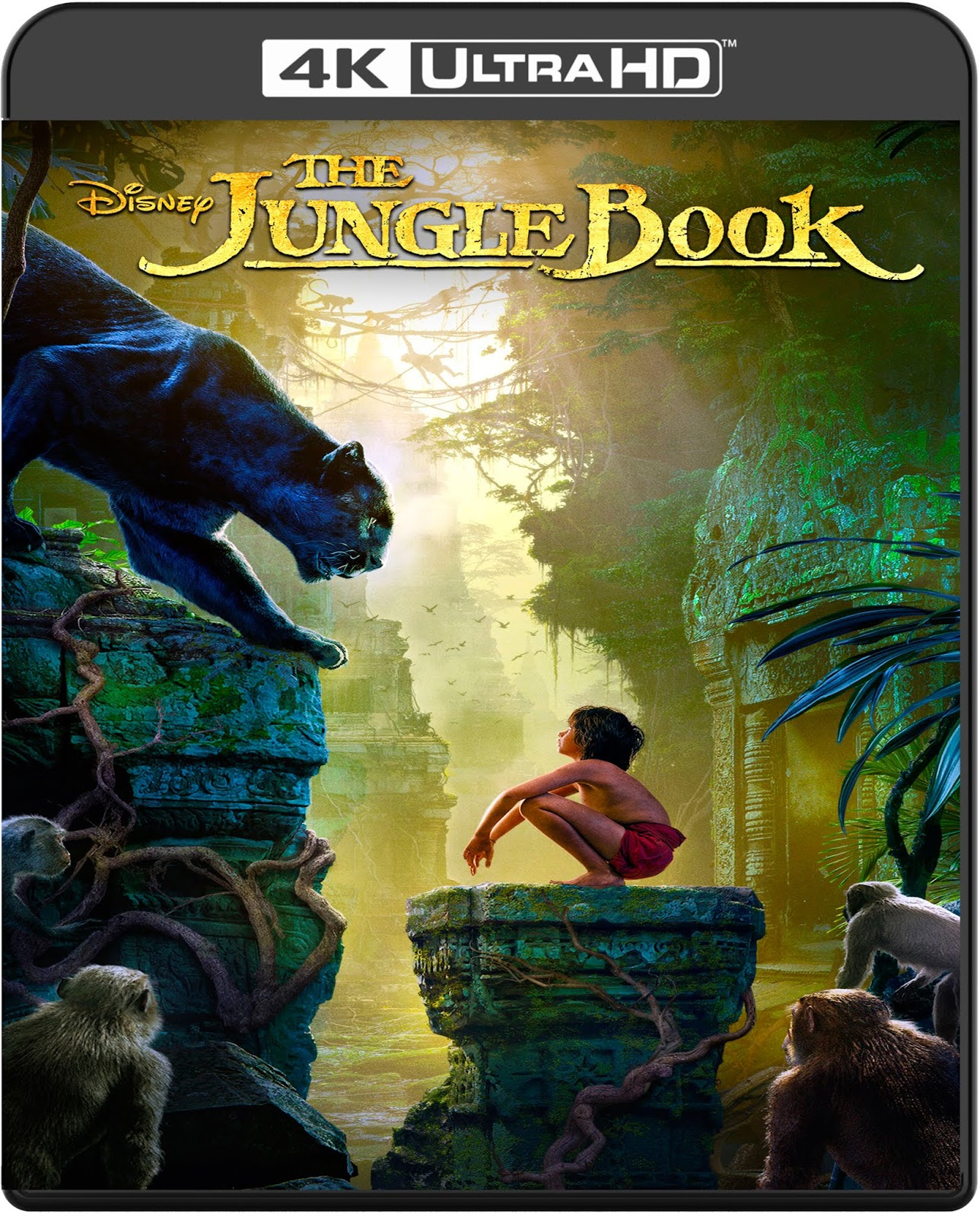 The Jungle Book [2016] [UHD] [2160p] [Latino]