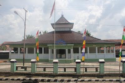 APRILIANSYAH | Bung Karno dan Masjid Raudhatus Sa'adah Musi Rawas
