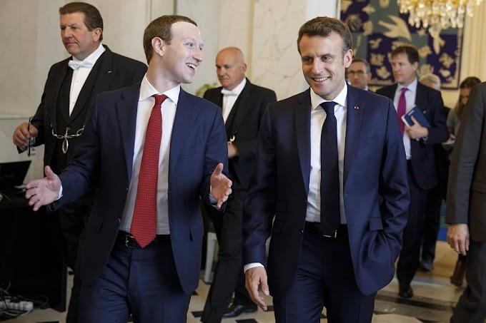 Mark Zukerberg meets with President Emmanuel Macron in Paris,  give reasons below