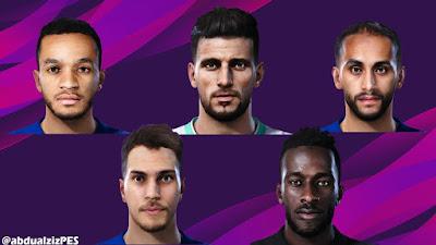 PES 2020 Facepack Saudi Pro League by AbdulAziz