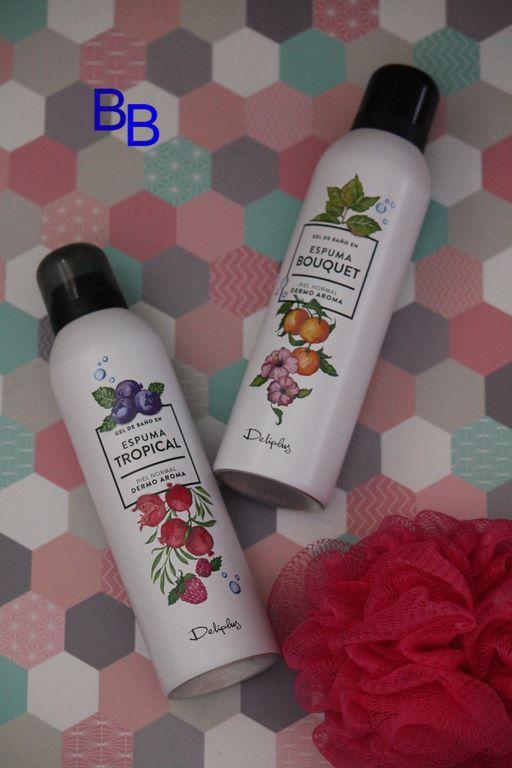Espumas de ba o deliplus de mercadona aromas bouquet y - Bano de color mercadona ...