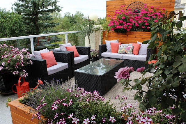 Balcony Garden Decor Ideas to Give Your Home a New Look