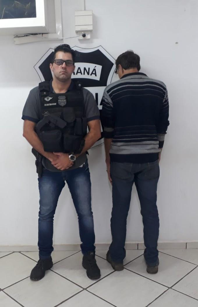 Homem é preso por porte ilegal de arma na zona rural de Castro