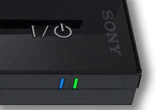 PS3 LED LIGHT SOLID BLUE