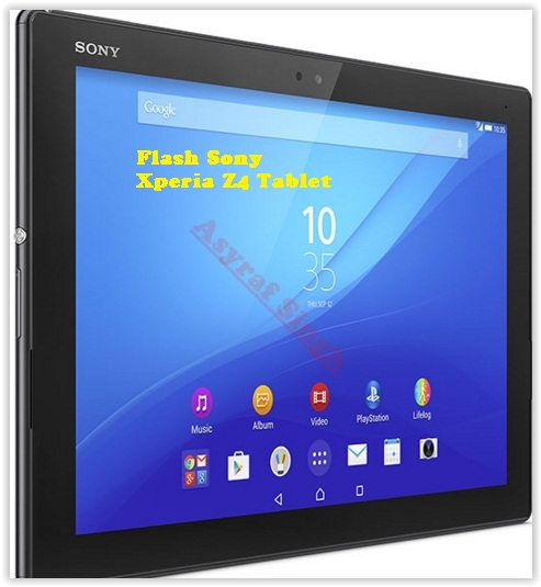 Guide To Upgrade Or Flash Sony Xperia Z4 Tablet (SGP712 Wi