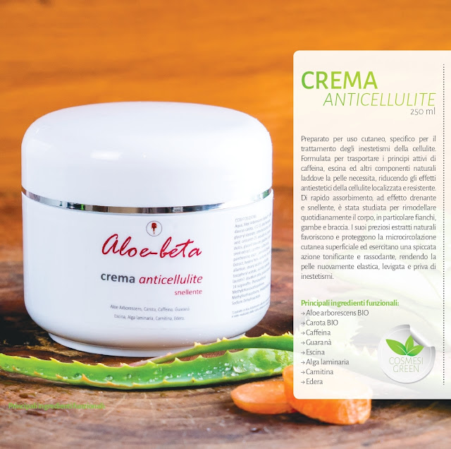 Crema Anticellulite snellente Aloe-Beta Aloe Arborescens