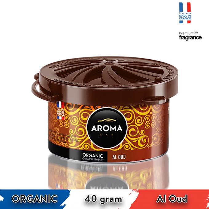 Sáp thơm ô tô Aroma Car Organic 40g - Al Oud