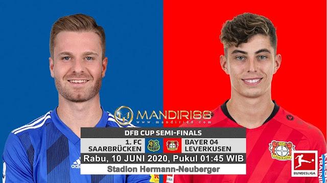 Prediksi FC Saarbrucken Vs Bayer Leverkusen, Rabu 10 Juni 2020 Pukul 01.45 WIB