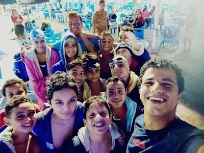 سباحة ٦ أكتوبر تواصل النجاح في بطولة الجيزة