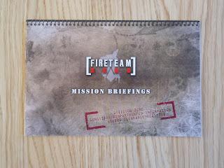 Fireteam Zero mission book