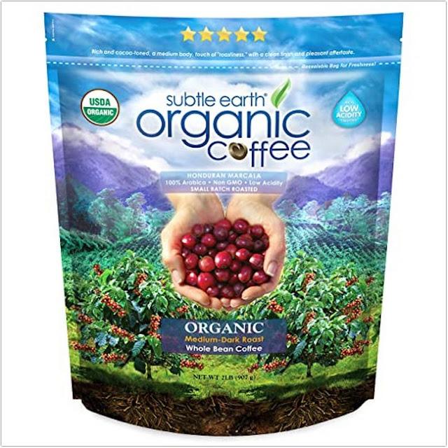 Subtle Earth Organic Coffee;Organic Coffee Brands;