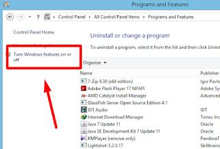 Cara Aktifkan IIS di Windows