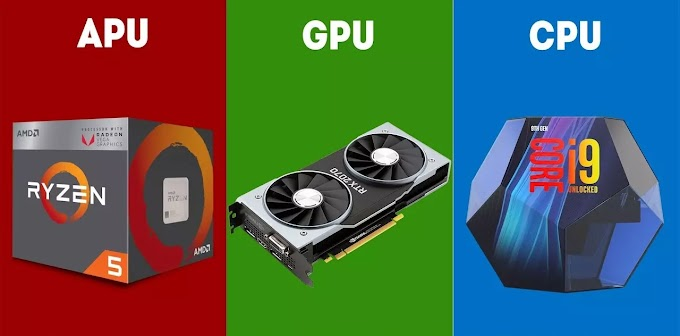 ¿Cuál es la diferencia entre una APU, CPU y GPU?