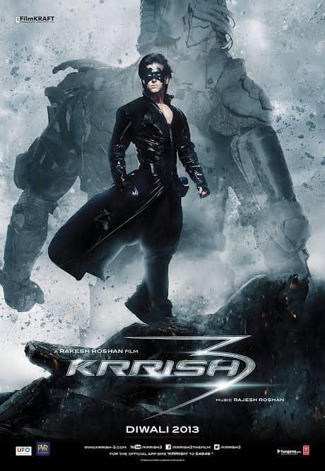 Krrish 3 (2013) Full Movie Download 720p HD (800mb) Openload