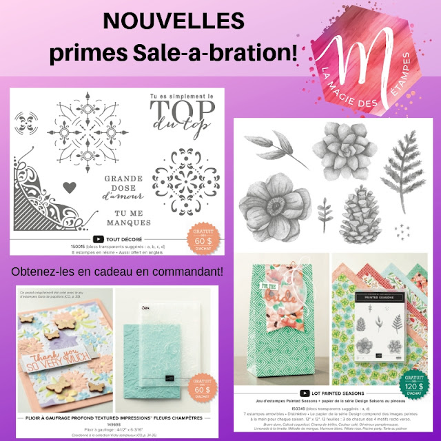 primes Sale-a-bration 2019 Stampin' UP!