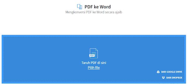 Cara Konversi PDF ke Word atau sebaliknya