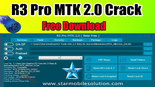 R3 Tools Pro MTK V2.0 Crack