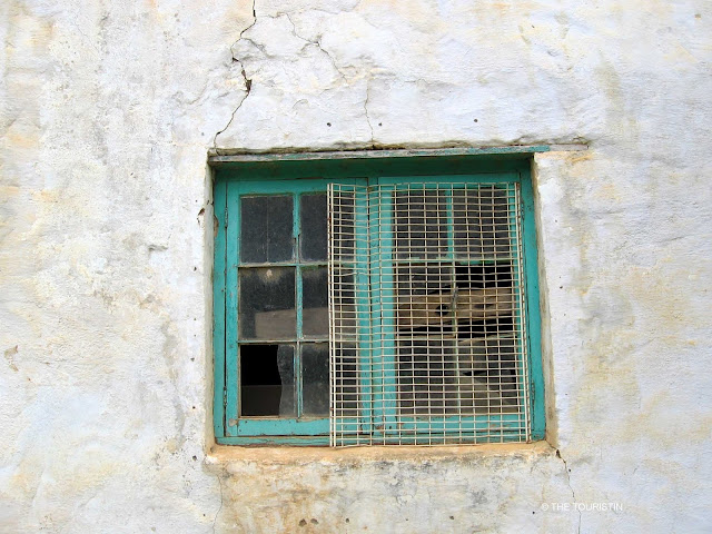 South Africa, Karoo style, green window