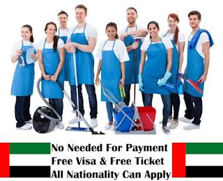 Housekeeping Staff Recruitments in Dubai