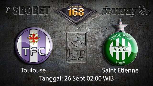 Prediksi Bola Jitu Toulouse vs Saint Etienne 26 September 2018 ( French Ligue 1 )