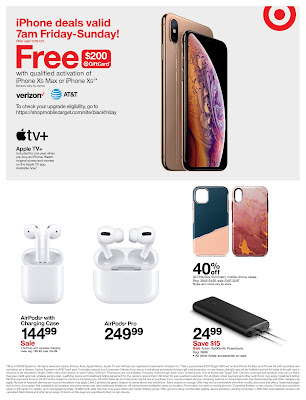 iPhone black friday deals Target 2019