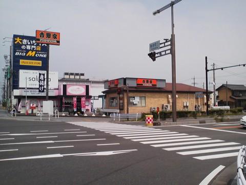 外観1 吉野家258号線大垣店