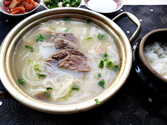 korean ox bone soup