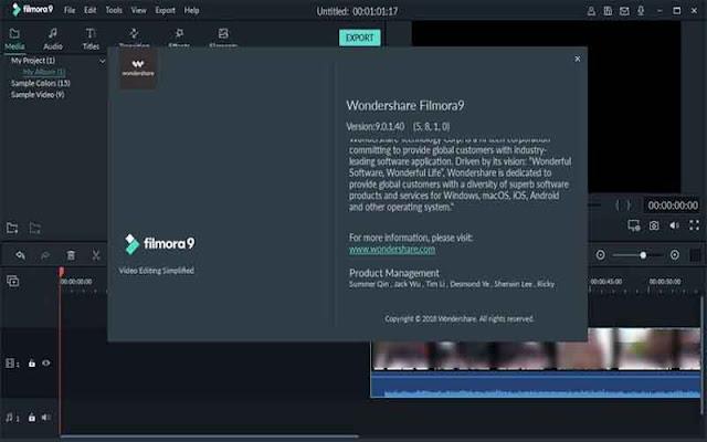 Wondershare Filmora 9.2.7.11