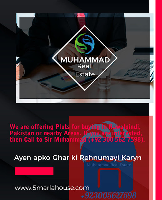 Plots for Purchase in Takal, Rawalpindi, Pakistan, Muhammad Real Estate - Call +923005627598