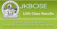 JKBOSE 12th Class Result