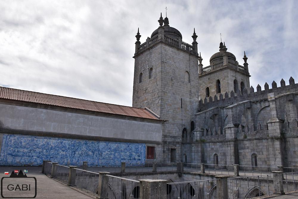 Portugalia, Porto - katedra, kościoły