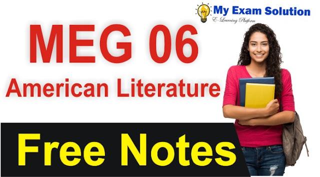 american literature, free american literature notes, american literature notes, american literature syllabus,