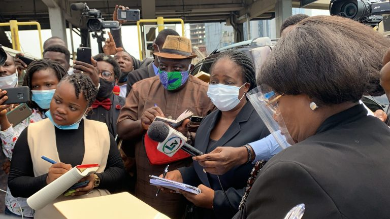 #EndSARS: Lagos Judicial Panel Visits Lekki Toll Gate (Photo) #Arewapublisize