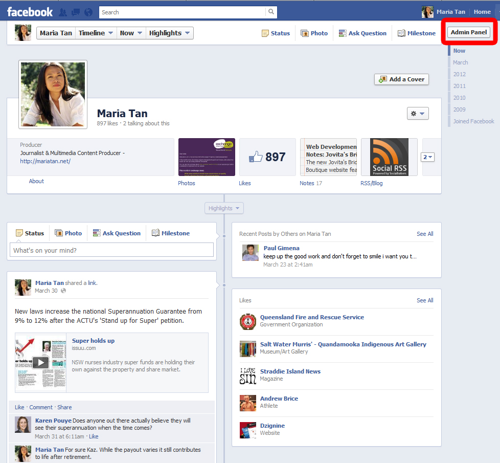 Digital Media Discourse: How to add or update the Facebook ...
